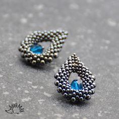 Kapky deště - earrings
