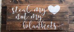 Pallet Sign Reclaimed Wood DIY Pallet Art Rustic Sign Rustic Home Decor Quote Sign Bedroom Decor Shabby Chic Pallet Crafts Home Decor Wood Sign Pallet Walls, Wood Pallet Signs, Diy Wood Signs, Pallet Art, Rustic Signs, Diy Pallet, Rustic Wood, Wood Walls, Rustic Walls