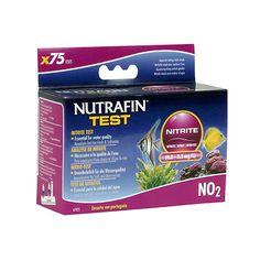 NUTRAFINTest KitNitrito - #FaunAnimal El nitrito de prueba de Nutrafin ( 0,0 a 3,3 mg / L ) mide los niveles de nitrito en acuarios de agua dulce o salada.