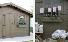 tuinhuis kleur Boss BG 10 Home Interior Design, Garage Doors, Shed, Outdoor Structures, Outdoor Decor, House, Home Decor, Decoration Home, Home