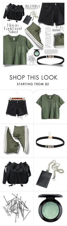 """""""The Future Kept"""" by violet-peach ❤ liked on Polyvore featuring Keds, Monki, MAC Cosmetics and Industrie"""