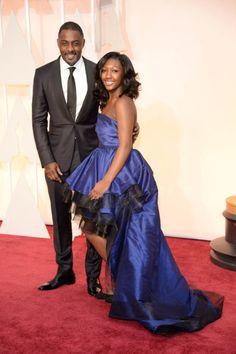 Idris Elba, and his daughter.