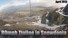 ZIPLINE IN SNOWDONIA