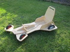 This project was inspired by a friend asking me to build a go-kart for his kids...got a bit carried away. Flat-packable and incorporating a foot brake, CNC routed from plywood, mostly snap together with just a few screws. Road tested down the port hills in Christchurch, including a spectacular crash (durability testing...). Inquiries welcome on this, we would love to make a few more
