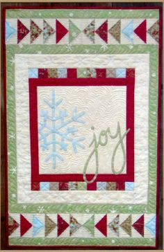 """Joy"" by Cottage Creek Quilts as seen at The Quilt Pattern Shoppe"