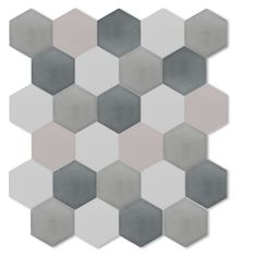 cle cement hex tiles2 in blues