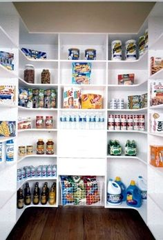 Custom Kitchen Pantry Solutions   Kitchen Pantry Storage Space, My Husband  Would Love This.