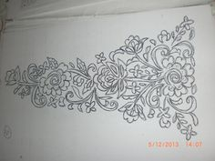 Hand Embroidery, Embroidery Designs, Broderie Simple, Easy Knitting, Couture, Tapestry, Drawings, Floral, Blog