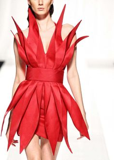 Fausto Sarli S/S 2011 #red dress