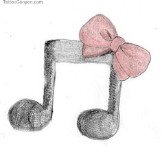 Music Tattoo By Liliko Dream On Deviantart picture 10733