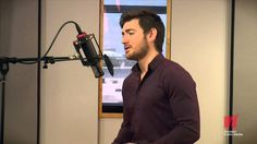 Emmet Cahill, Irish tenor singer and former member of the group Celtic Thunder, visited Houston Public Media's Geary Studio to record a couple songs while in...