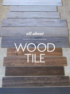8 Tips for Nailing the Wood Tile Look (Little Green Notebook) - fliesen. Wood Bathroom, Bathroom Flooring, Bathroom Ideas, Bathroom Green, Downstairs Bathroom, Bathroom Colors, Bathroom Makeovers, Bath Ideas, Small Bathroom