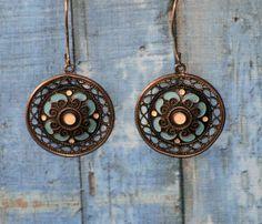 1970s earrings glamorous earrings vintage от xBackInTheUSSRx
