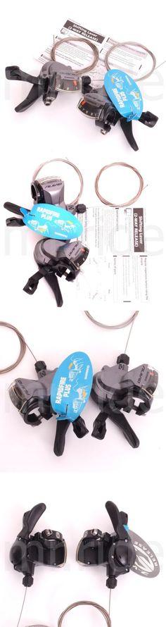 Shifters 177824: Shimano Alivio Mtb Bike Shifters Shift Levers Sl-M4000 Rapidfire 3 X 9 Speed -> BUY IT NOW ONLY: $30.96 on eBay!
