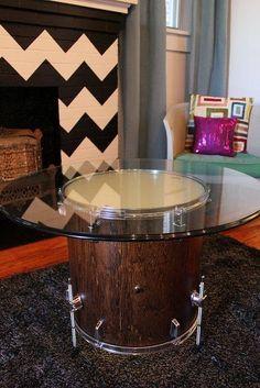 Drummer furniture! :D