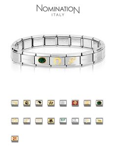 Nomination Bracelets  amp  Charms available at Silver Company! We have  stores in Eastgate Shopping ad0972029d6a