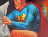 Superman poops