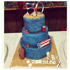 Puerto Rico Birthday Cake Puerto Rico Food, Lechon, Puerto Ricans, Pork Roast, Themed Cakes, Rigs, 50th, Daddy, Birthday Cake