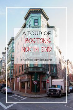 Would you like to take a tour around Boston's historic North End (or Little Italy as it's also known)? Click on pin to find out what to see in this beautiful neighborhood of Boston!