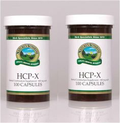 Naturessunshine HCP X Supports Digestive System Herbal Dietary Supplement 100 Capsules (Pack of 2) Nature's Sunshine,