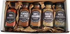 Authentic Set of 5 FreshJax Gourmet Handcrafted Spices (Family Favorite Spices), ,