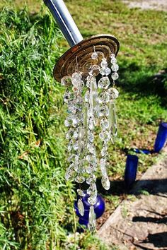 Super cute. Maybe add a wind chime for the garden!