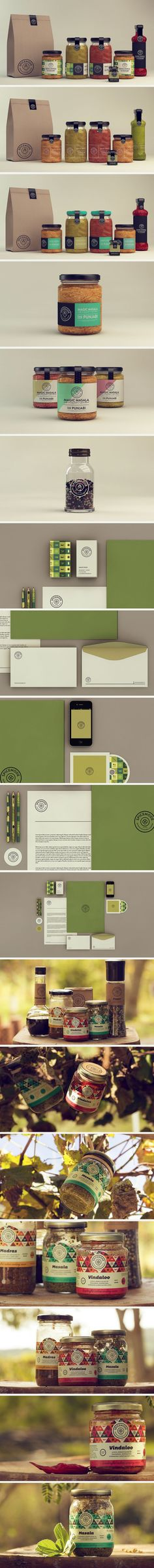 Spicemode Foods identity and packaging by Isabela Rodrigues