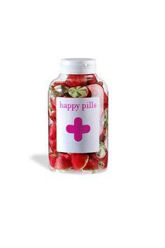 Frasco de Happy Pills