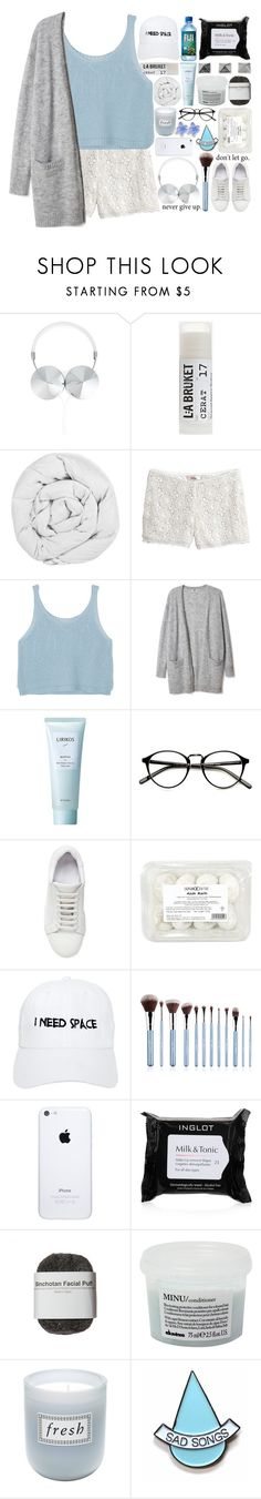 """Because I Am Strong"" by h-eartstrings ❤ liked on Polyvore featuring Frends, Toast, The Fine Bedding Company, Lirikos, Jil Sander, Nasaseasons, Sigma, Inglot, Davines and Fresh"