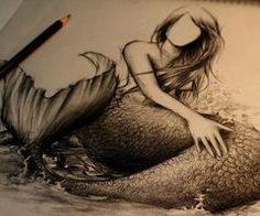 mermaid drawing | Tumblr
