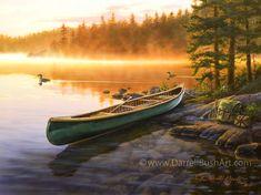 Fire Lake Darrell Bush
