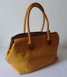 Tote Bag Pebble Leather by PierreLaborde on Etsy