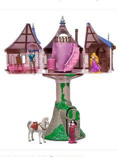 Tangled tower set