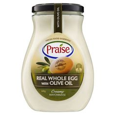 Praise Whole Egg Mayonnaise With Olive Oil | Woolworths