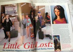 Barbie Bazaar Magazine February 2000 Future Wear Vintage Secret Barbie Story in Libros, Publicaciones anteriores de revistas | eBay