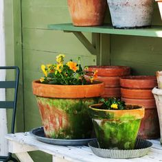 Inspirasjon – Min Oase Diy Wreath, Wreaths, Planter Pots, Winter, Garden, Christmas, Home Decor, Patio, Crafting