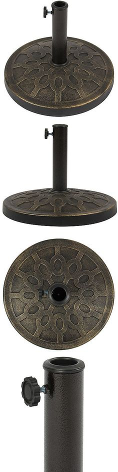 umbrella stands best choice products 18 patio umbrella base stand u003e buy it - Patio Umbrella Base