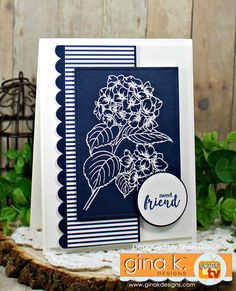 Come and join us for the newest @inspiredbyallthelittlethings challenge!!!#inspiredbyallthelittlethings #ginakdesigns #friendshipcard #stamping #cardmaking