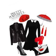 A fashion look from October 2017 featuring peter pan dress, double breasted jacket and laced up heel boots. Browse and shop related looks. Velvet Blazer, Fashion Heels, Charlotte Olympia, Dsquared2, Flare Dress, Polyvore Fashion, Drop, Fashion Looks, Blood