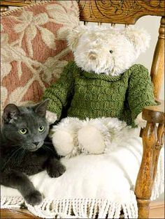Ravelry: Teddy Bear Top pattern by Margaret Santino Easy Knitting Patterns, Knitting Projects, Crochet Patterns, Knitted Teddy Bear, Teddy Bears, 12 Inch Doll Clothes, Build A Bear Outfits, Teddy Bear Clothes, Knitted Animals
