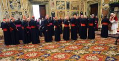 ODD ORBIT: News Oddities around the World; Pope Benedict XVI receives greetings from Roman Curia and pontifical family   at the Clementina Hall on December 22, 2008 in Vatican City, Vatican.