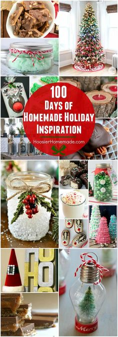 Visit our 100 Days of Homemade Holiday Inspiration for more recipes, decorating ideas, crafts, homemade gift ideas and much more! #christmas #holidays #ideas