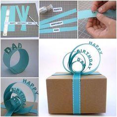 Geschenke schön und originell einpacken! Die hübschesten Verpackungsideen für jeden Anlass ... - DIY Bastelideen