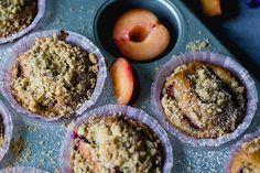Muffins mit Pflaumen & Zimt
