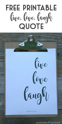 Free LIVE, LOVE, LAU