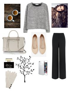 """Untitled #131"" by eliisabetlovesfashion ❤ liked on Polyvore featuring Express, Jaeger, MANGO, Rebecca Minkoff, Dolce&Gabbana and Wyatt"