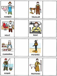 Community Workers, Stipa, Language, Clip Art, Album, Learning, Flashcard, Speech Therapy, Sorting