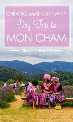 Chiang Mai Getaway: Day Trip to Mon Cham Escape from Chiang Mai's city heat with a day trip to Mon Cham. Cool crisp temperatures and gorgeous views await you in these hills of Northern Thailand. Ko Samui, Koh Phangan, Phuket Travel, Bangkok Travel, Vietnam Travel, Asia Travel, Bangkok Trip, Chiang Mai, Thailand Destinations