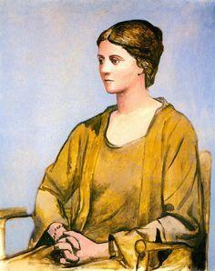 portret olgi picasso 1923 lA cALIFORNIE - Szukaj w Google