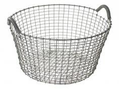 Korbo Handmade Wire Baskets :    Korbo Handmade Wire Basket; $135 from Design Within Reach.  Remodelista.com